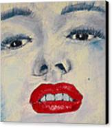Marilyn Monroe Canvas Print by David Patterson