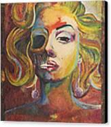 Marilyn Monroe Canvas Print by Mike Caron