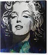 Marilyn Monroe..2 Canvas Print by Chrisann Ellis