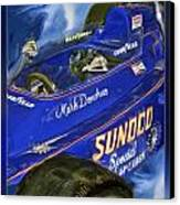 Mark Donohue 1972 Indy 500 Winning Car Canvas Print by Blake Richards