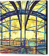 Market Street Bridge Arch Canvas Print by Steven Llorca