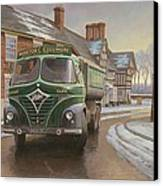 Martin C. Cullimore Tipper. Canvas Print by Mike  Jeffries