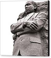 Martin Luther King Memorial Statue Canvas Print by Olivier Le Queinec