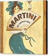 Martini Dry Canvas Print by Debbie DeWitt