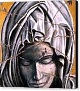 Mary Super Petram - Study No. 1 Canvas Print by Steve Bogdanoff