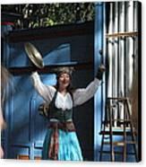 Maryland Renaissance Festival - A Fool Named O - 121223 Canvas Print by DC Photographer