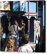 Maryland Renaissance Festival - A Fool Named O - 121228 Canvas Print by DC Photographer