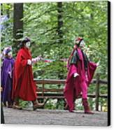Maryland Renaissance Festival - People - 121289 Canvas Print by DC Photographer