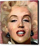 Marylin Monroe Canvas Print by James Shepherd