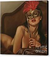 Masquerade I Canvas Print by John Silver