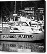 Master Of The Harbor Canvas Print by Melinda Ledsome
