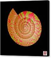 Math Conch Canvas Print by GuoJun Pan