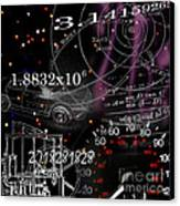 Math Science Invention Canvas Print by R Kyllo