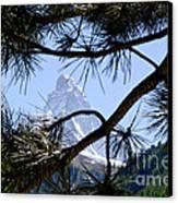 Matterhorn Canvas Print by Mats Silvan