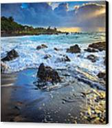 Maui Dawn Canvas Print by Inge Johnsson