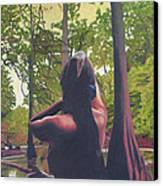 May Morning Arkansas River 5 Canvas Print by Thu Nguyen