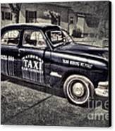 Mayberry Taxi Canvas Print by David Arment