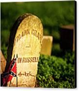 Mcgavock Confederate Cemetery Canvas Print by Brian Jannsen