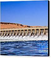 Mcnary Dam Canvas Print by Robert Bales