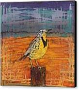 Meadows Song Canvas Print by Carolyn Doe
