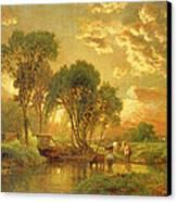 Medfield Massachusetts Canvas Print by Inness