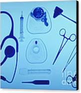 Medical Equipment Canvas Print by Blair Seitz