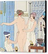 Medical Massage Canvas Print by Joseph Kuhn-Regnier