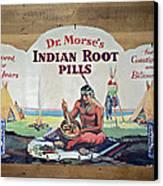 Medicine Man Canvas Print by Susan Leggett