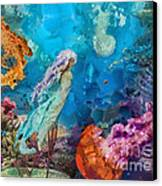 Medusa's Garden Canvas Print by Mo T
