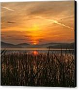 Memories Of A Sunset Canvas Print by Rose-Maries Pictures
