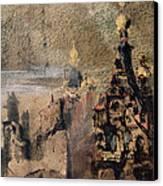 Memory Of Spain Canvas Print by Victor Hugo