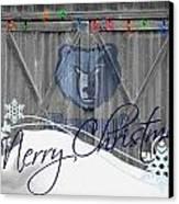 Memphis Grizzlies Canvas Print by Joe Hamilton