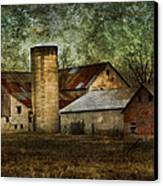Mennonite Farm In Tennessee Usa Canvas Print by Kathy Clark