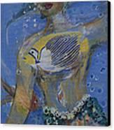 Mermaid Canvas Print by Avonelle Kelsey