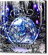 Merry Christmas Canvas Print by Mo T