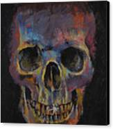 Skull Canvas Print by Michael Creese