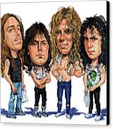 Metallica Canvas Print by Art