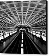 Metro Canvas Print by Greg Fortier