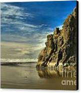 Meyers Beach Stacks Canvas Print by Adam Jewell