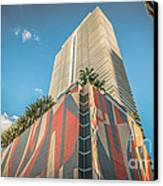 Miami Downtown Buildings - Miami - Florida Canvas Print by Ian Monk