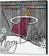 Miami Heat Canvas Print by Joe Hamilton