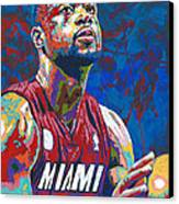 Miami Wade Canvas Print by Maria Arango