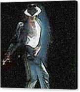 Michael Jackson Canvas Print by Georgi Dimitrov