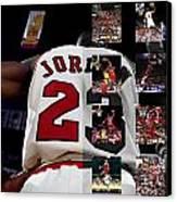 Michael Jordan Canvas Print by Joe Hamilton