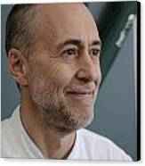 Michel Roux Jr. Canvas Print by CandyAppleRed Images