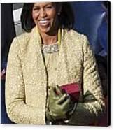 Michelle Obama Canvas Print by JP Tripp