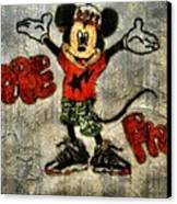 Mickey Of 11 Canvas Print by Travis Hadley