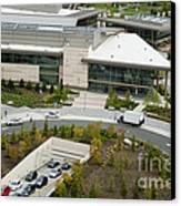 Microsoft Corporate Headquarter's West Campus Redmond Wa Canvas Print by Andrew Buchanan via Latitude Image