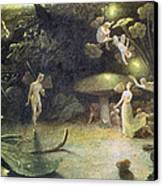 Midsummer's Night Dream Canvas Print by Francis Danby