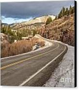 Mile One Canvas Print by Sue Smith